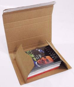 View Book & DVD Mailers