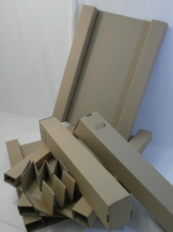 Packing Components For Large Screen Tv Posting Shipping Box
