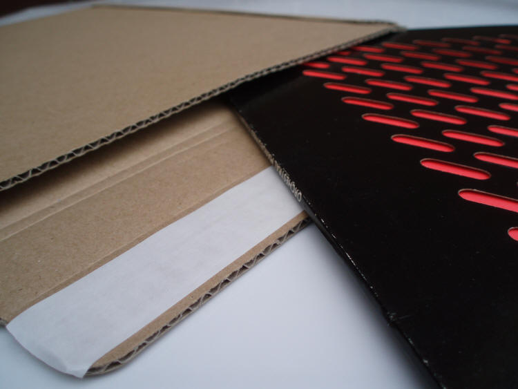 See Our Corrugated Record Mailing Products